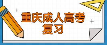 重庆成人高考复习